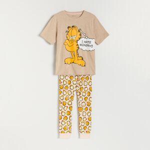 Reserved - Dvoudílná pyžamová souprava Garfield - Bordó