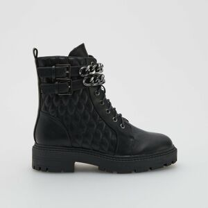 Reserved - Dámské kotníkové boty - Černý