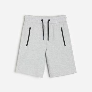 Reserved - Boys` shorts - Světle šedá