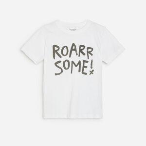 Reserved - Boys` t-shirt - Krémová