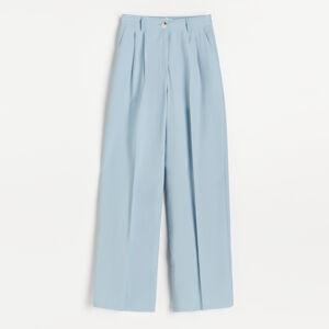 Reserved - Ladies` trousers - Modrá