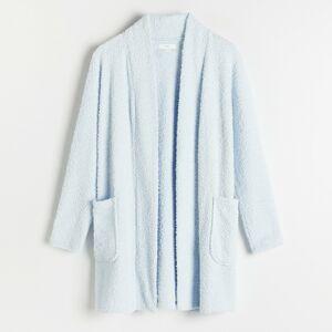 Reserved - Ladies` dressing gown - Modrá