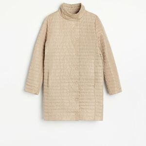 Reserved - Lehký prošívaný kabát - Béžová