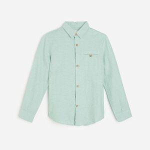Reserved - Boys` shirt - Zelená