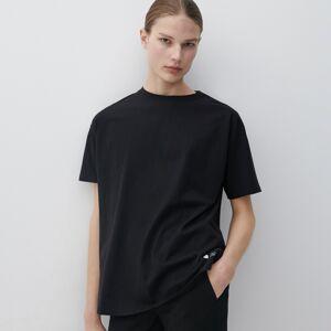Reserved - Bavlněné tričko - Černý