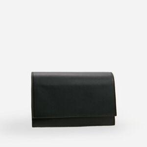 Reserved - Malá kabelka přes rameno sklopou - Černý