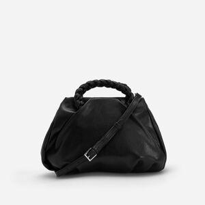 Reserved - Ladies` handbag - Černý