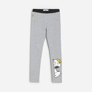 Reserved - Girls` trousers - Světle šedá