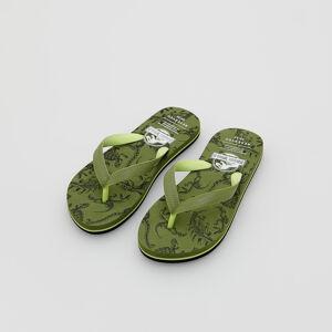 Reserved - Men`s flip-flops - Khaki