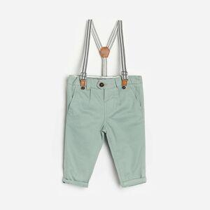 Reserved - Babies` trousers & suspenders - Zelená