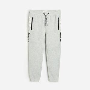 Reserved - Boys` trousers - Světle šedá