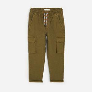 Reserved - Bavlněné kalhoty cargo - Khaki