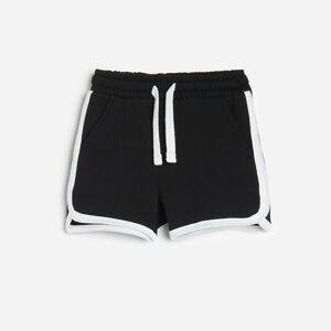 Reserved - Boys` shorts - Černý