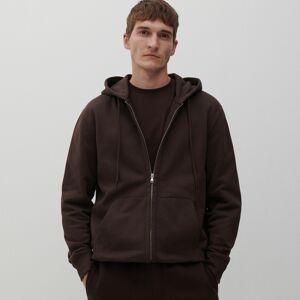 Reserved - Mikina na zip s kapucí - Hnědá
