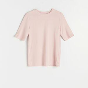 Reserved - Úpletové tričko - Růžová