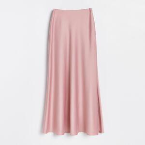 Reserved - Saténová sukně - Růžová