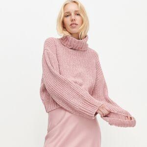 Reserved - LADIES` SWEATER - Růžová