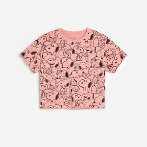 Reserved - Girls` t-shirt - Růžová