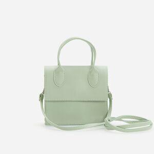 Reserved - Malá kabelka listonoška - Zelená