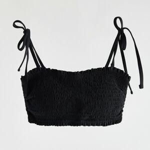Reserved - Ladies` beachwear bra - Černý