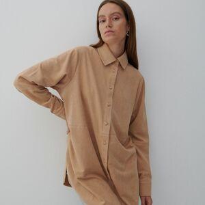 Reserved - Košilová bunda - Béžová