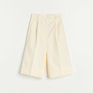 Reserved - Kraťasy zorganické bavlny - Žlutá