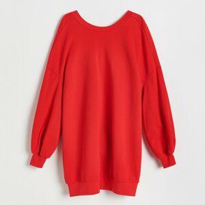 Reserved - Pleteninové šaty - Červená