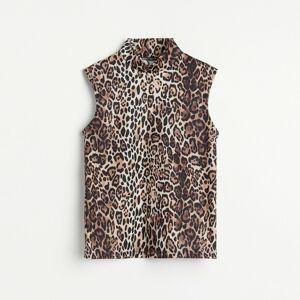 Reserved - Tričko s polorolákem - Vícebarevná