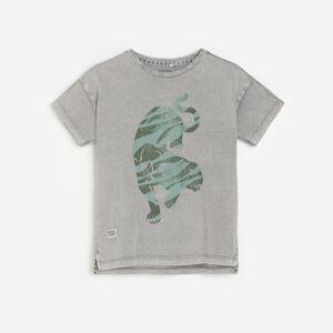 Reserved - Boys` t-shirt - Světle šedá