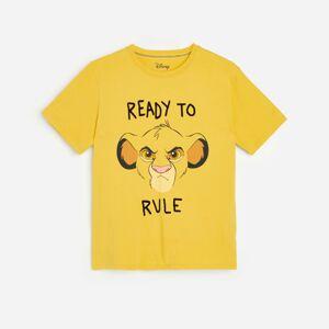 Reserved - Boys` t-shirt - Žlutá