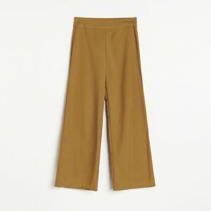 Reserved - Kalhoty culotte - Hnědá