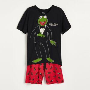 Reserved - Pyžamová souprava Kermit - Černý