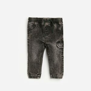 Reserved - BABIES` JEANS TROUSERS - Šedá