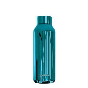 Nerezová lahev Solid Sleek 510 ml, Quokka, modrá