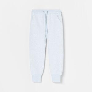 Reserved - Úpletové kalhoty Jogger - Fialová