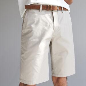 Reserved - Pánské šortky a pásek - Béžová