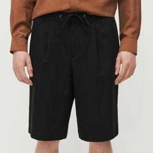 Reserved - Men`s shorts - Černý