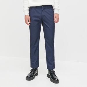 Reserved - Kalhoty chino ze strukturované látky -
