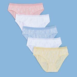 Reserved - 5 pack kalhotek - Bílá