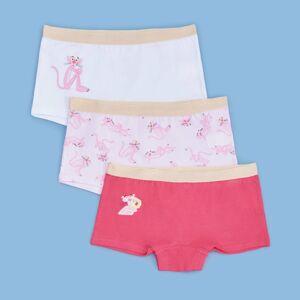 Reserved - Sada 3kusů boxerek Pink Panther - Růžová