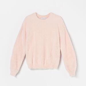 Reserved - Hebký svetr sdlouhými rukávy - Oranžová