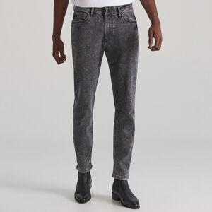 Reserved - Džínové kalhoty high flex - Šedá
