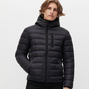 Reserved - Prošívaná bunda skapucí - Černý