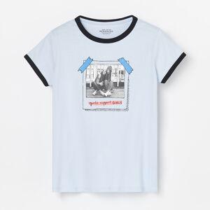 Reserved - Dívčí tričko - Fialová