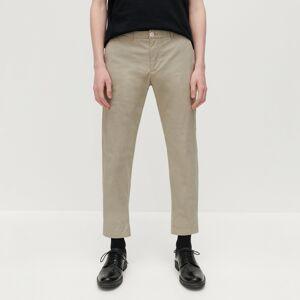 Reserved - Kalhoty chino ze strukturované látky - Béžová