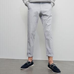 Reserved - Pánské kalhoty - Světle šedá