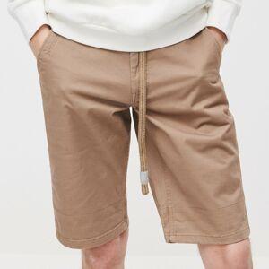 Reserved - Pánské šortky a pásek - Hnědá