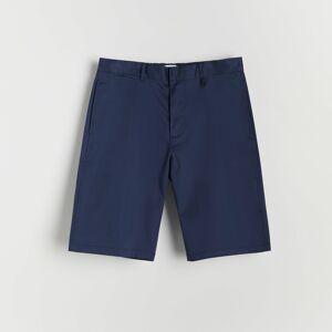 Reserved - Kraťasy svysokým podílem bavlny vklasickém provedení - Modrá