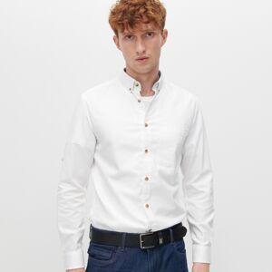 Reserved - Košile zorganické bavlny - Bílá