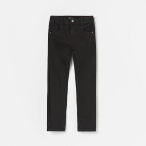Reserved - Kalhoty zelastické látky - Černý